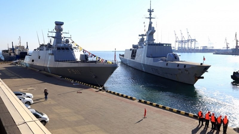 Two military ships of Turkey entered port of Odesa