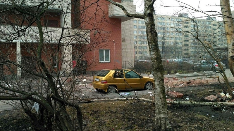Explosion in the east of St. Petersburg