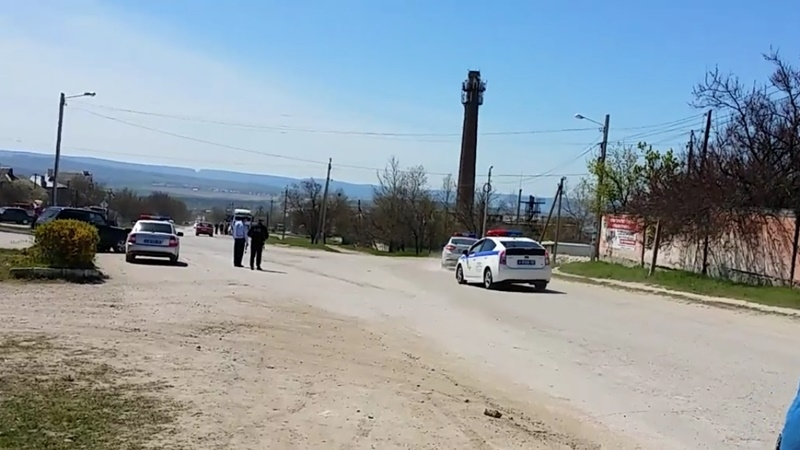 Repression in Bakhchysarai: Patrol detained two more Muslims