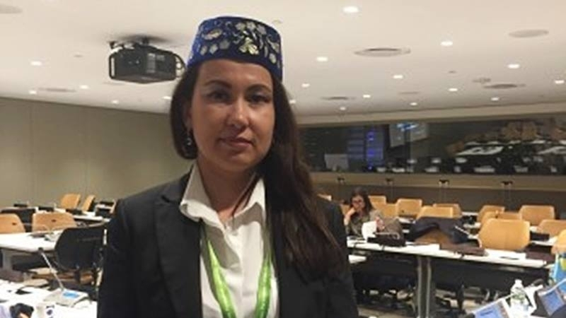 Yuksel at UN: We want to tell the world what we are going through
