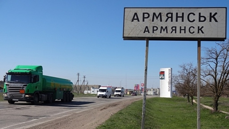 Occupation makes Armyansk residents feel like second-class people