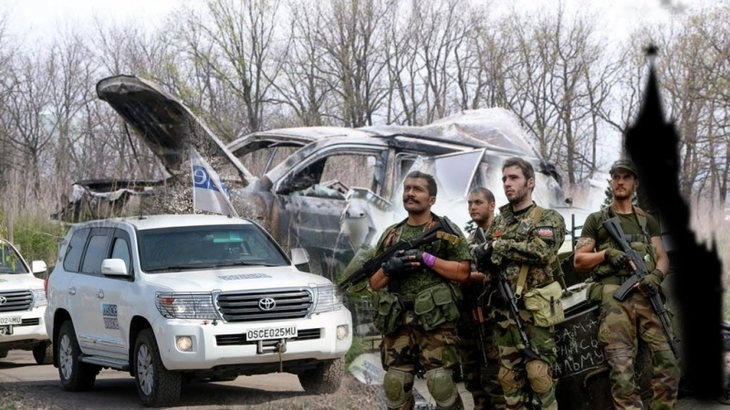 OSCE patrol blown due to possibility of introducing peacekeepers