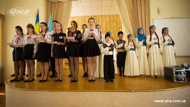 Victims of Crimean Tatar genocide commemorated in Kyiv school