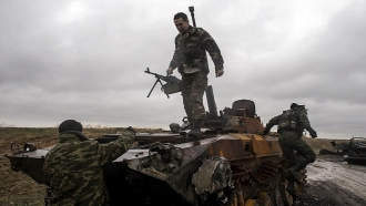 """Militants used """"Grads"""" and heavy artillery in Donbas"""