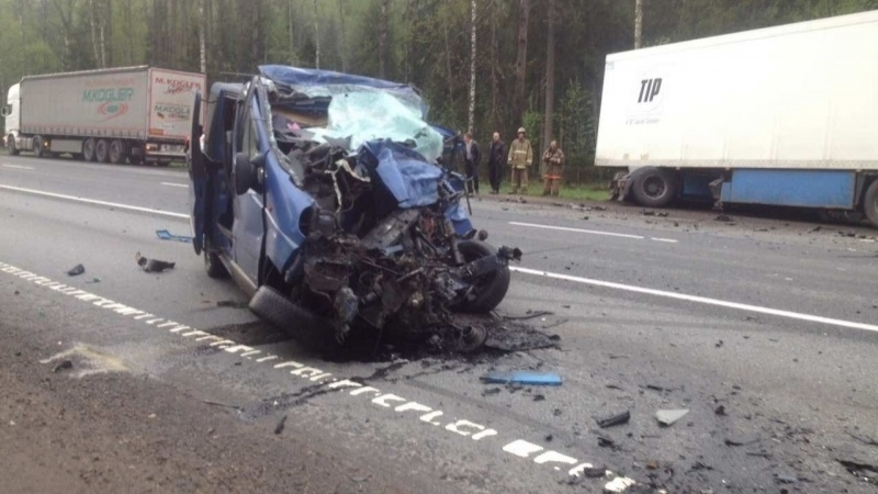 Five Ukrainians killed in road accident near Novgorod in Russia