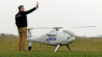 ORDLO militants learn shooting OSCE drones