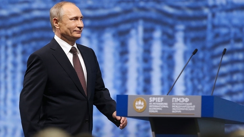 Putin in turn accused US of interference in elections
