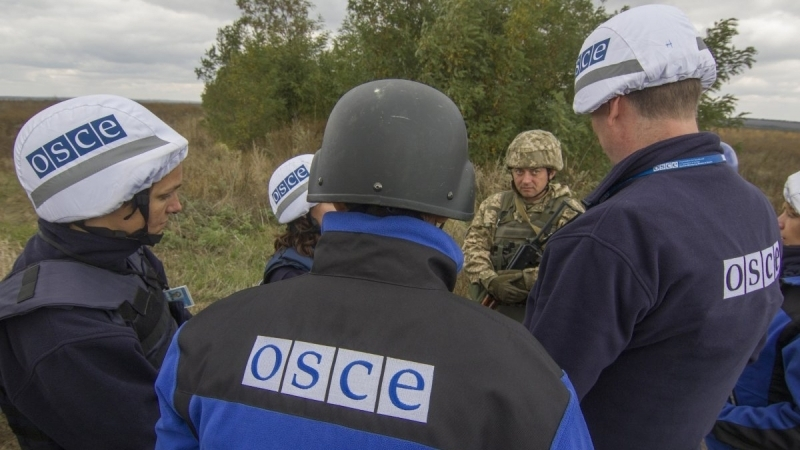 OSCE patrol was attacked in Donbas