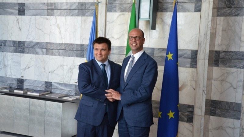 Position concerning Crimea occupation expressed in Italy
