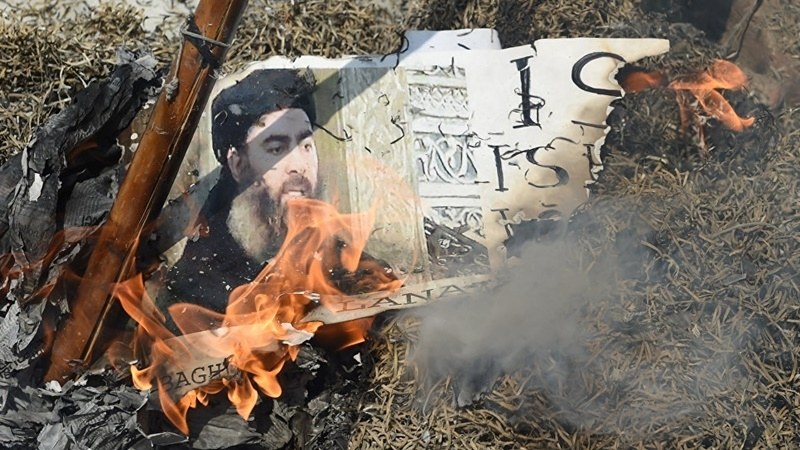 ISIS terrorists acknowledge death of their leader