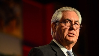 Tillerson noted particular readiness of RF to dialogue on Ukraine