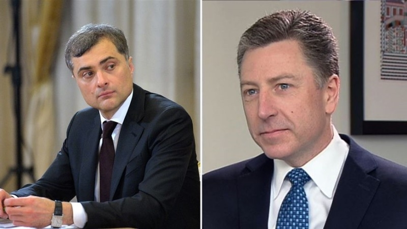 Surkov told about results of meeting with Volker