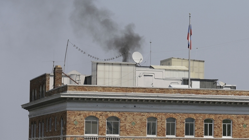 """RF explained smoke over its Consulate in USA with """"conservation"""""""