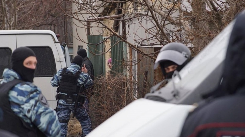 Occupiers again searching houses of Crimean Tatars