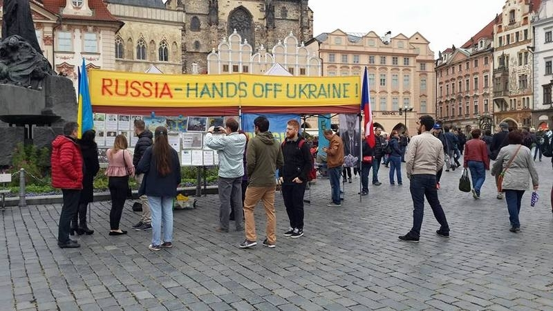 Campaigners for free Crimea supported in Prague