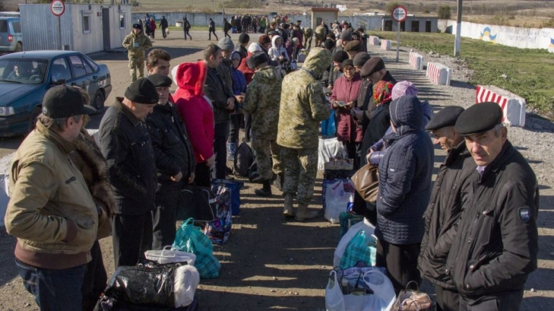 Number of IDPs sharply increased in Ukraine