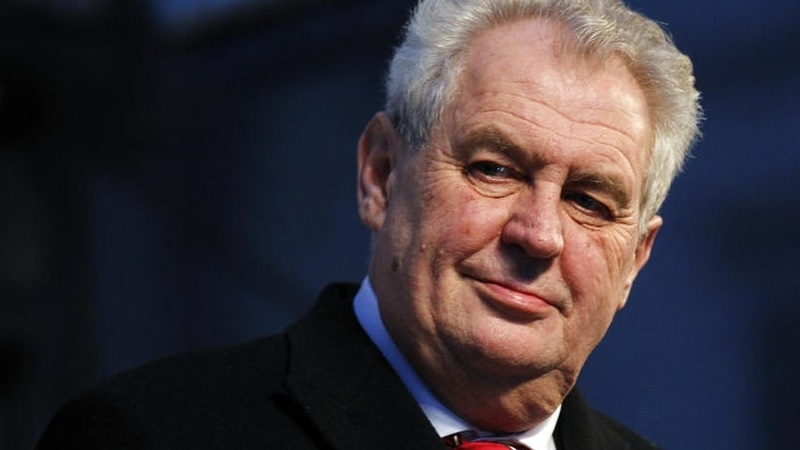 Czech President proposed to legalize annexation of Crimea
