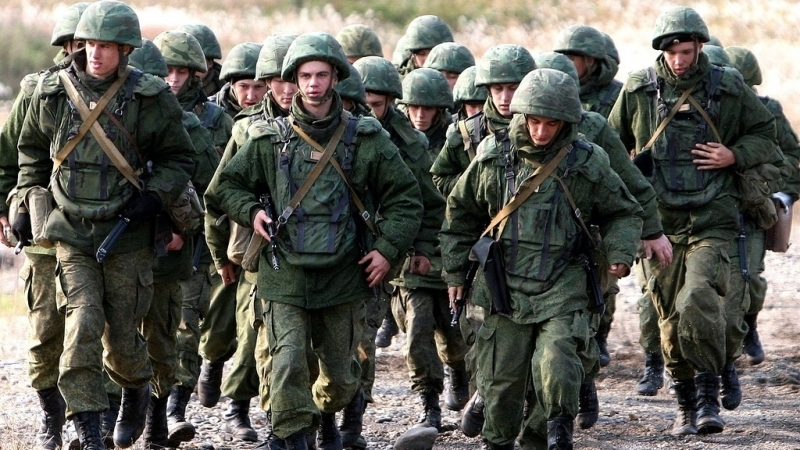 Russia conducts military exercises in occupied Crimea