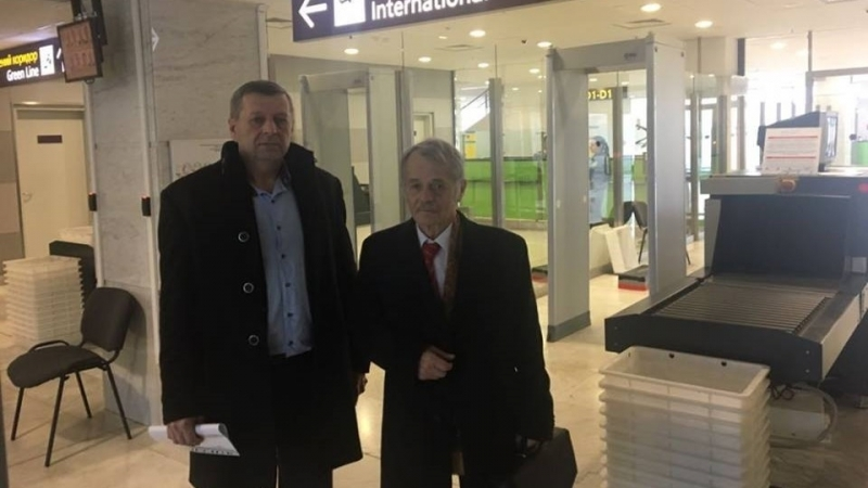 Dzhemilev headed to New York for UN meeting