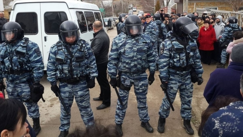 Outcome of searches at homes of Crimean Tatars on November, 16