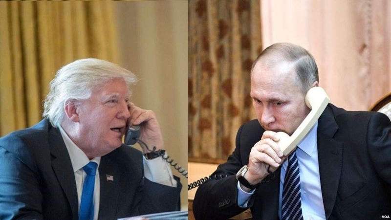 Syria and Ukraine became topic of conversation between Trump and Putin
