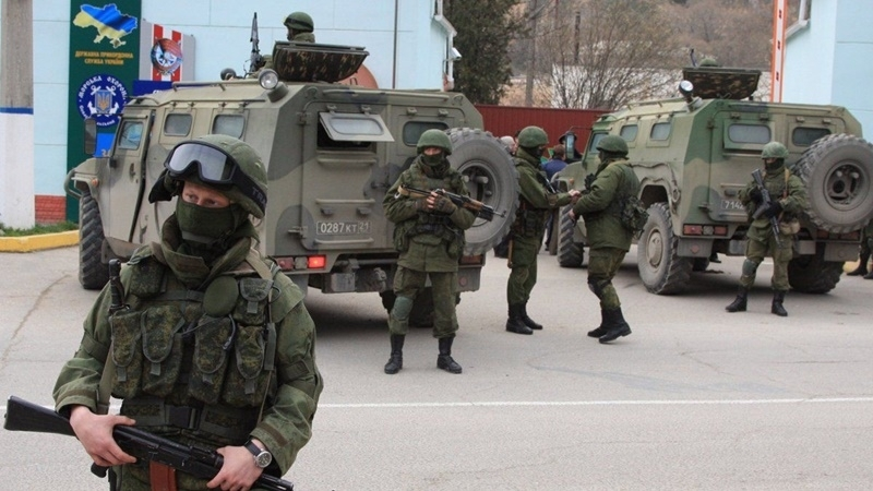 SBU presented a study on illegal annexation of Crimea