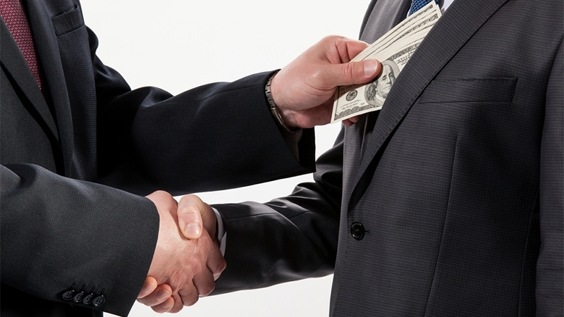 Ukraine dropped in Corruption Perception rating