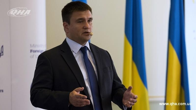 Klimkin to discuss issue of peacekeepers with UN Secretary General