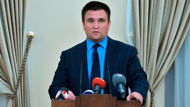 Klimkin: Negotiation on peacekeepers with fake republics not to happen