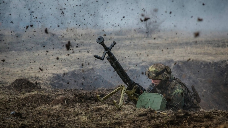 Militants continue to violate truce: Two Ukrainian military wounded