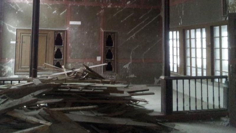 Company from Russia destroying Khan Palace in Crimea became known