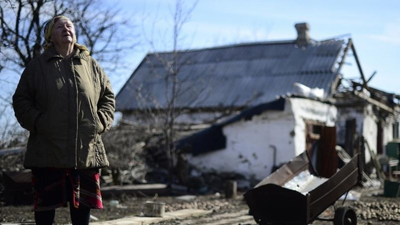 5000 houses destroyed due to Donbas conflict - human rights defenders