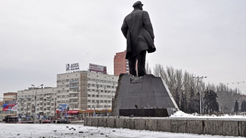 Explosion in center of Donetsk resulted in casualties