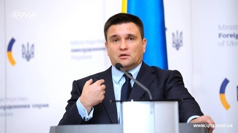 Organizers of elections in Crimea should be sanctioned – Klimkin