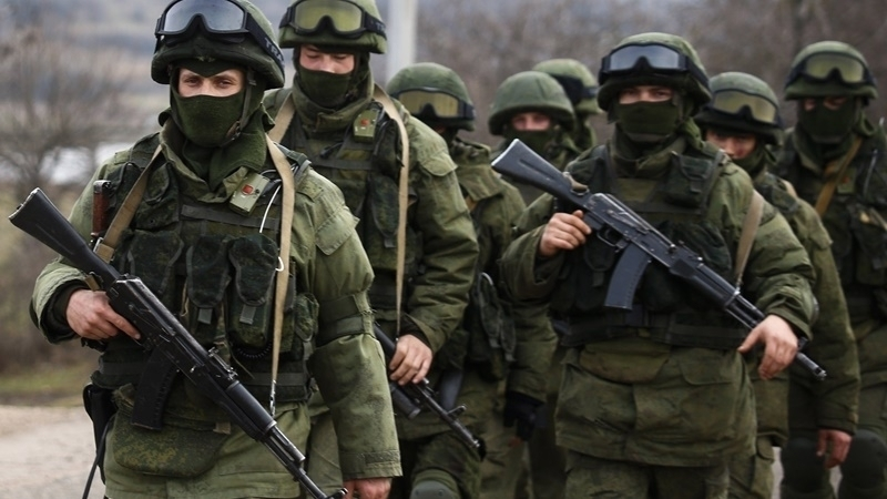 Ministry of Defense of Ukraine reported  number of RF soldiers and hardware in Crimea