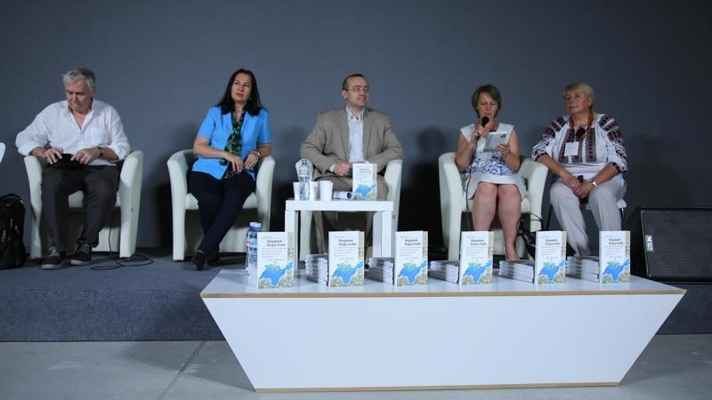 Monograph on the First Qurultay was presented at Book Arsenal in Kyiv