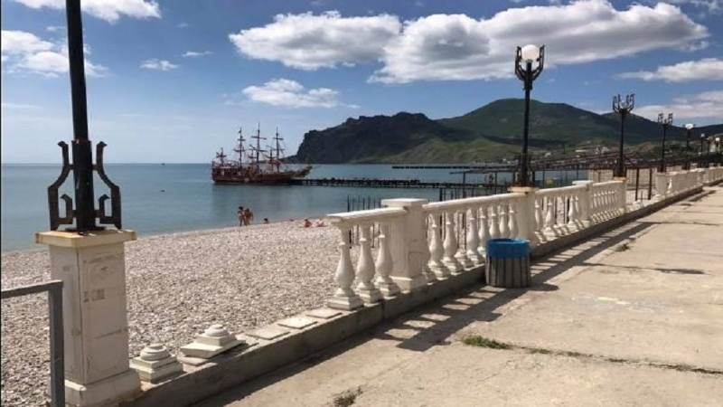 Invaders provided information on the number of tourists in Crimea