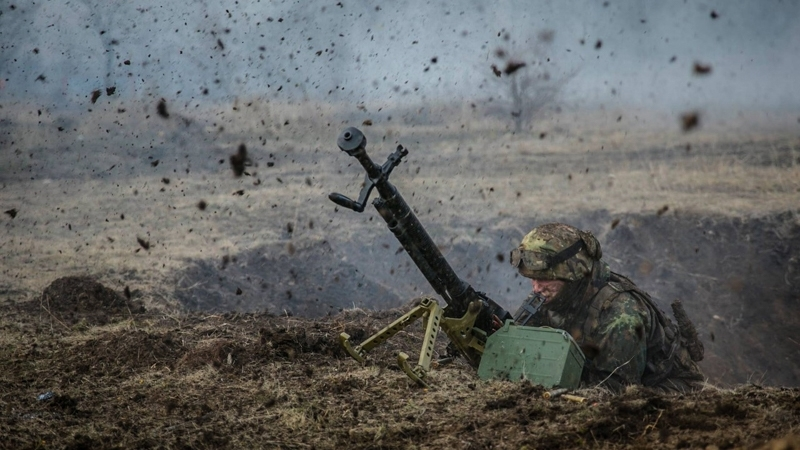 Day in JFO zone: 21 shootings on Ukrainian positions, one serviceman wounded