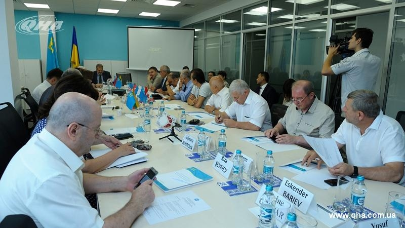 Executive Committee of World Congress of Crimean Tatars held meeting in Kyiv