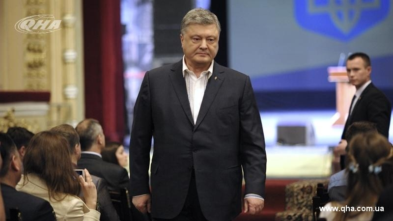 Poroshenko commissioned drafting claim to Russia on losses over annexation of Crimea