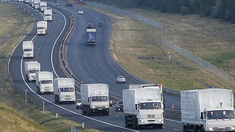 Convoy of trucks from RF in east of Ukraine discussed at meeting of OSCE Council