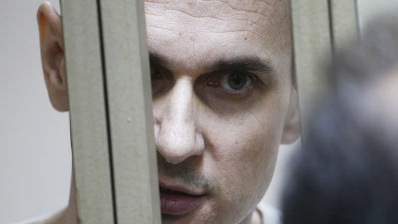 Sentsov not to give up hunger strike and will go to the end - Russian commissioner