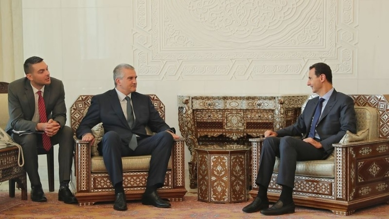Everything to be reported to Putin: Aksyonov about meeting with Assad